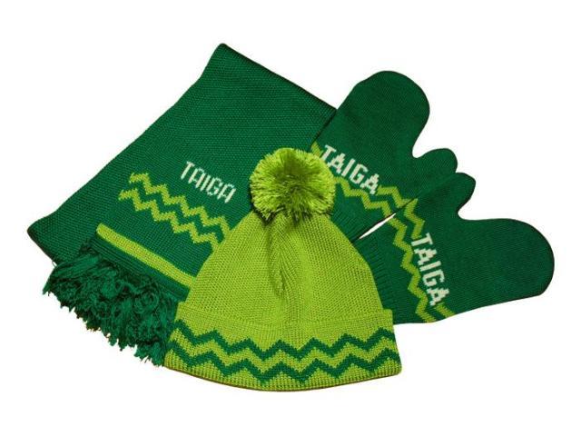 Корпоративный подарок вязаный шарф